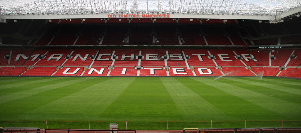 Old Trafford Stadium, inside